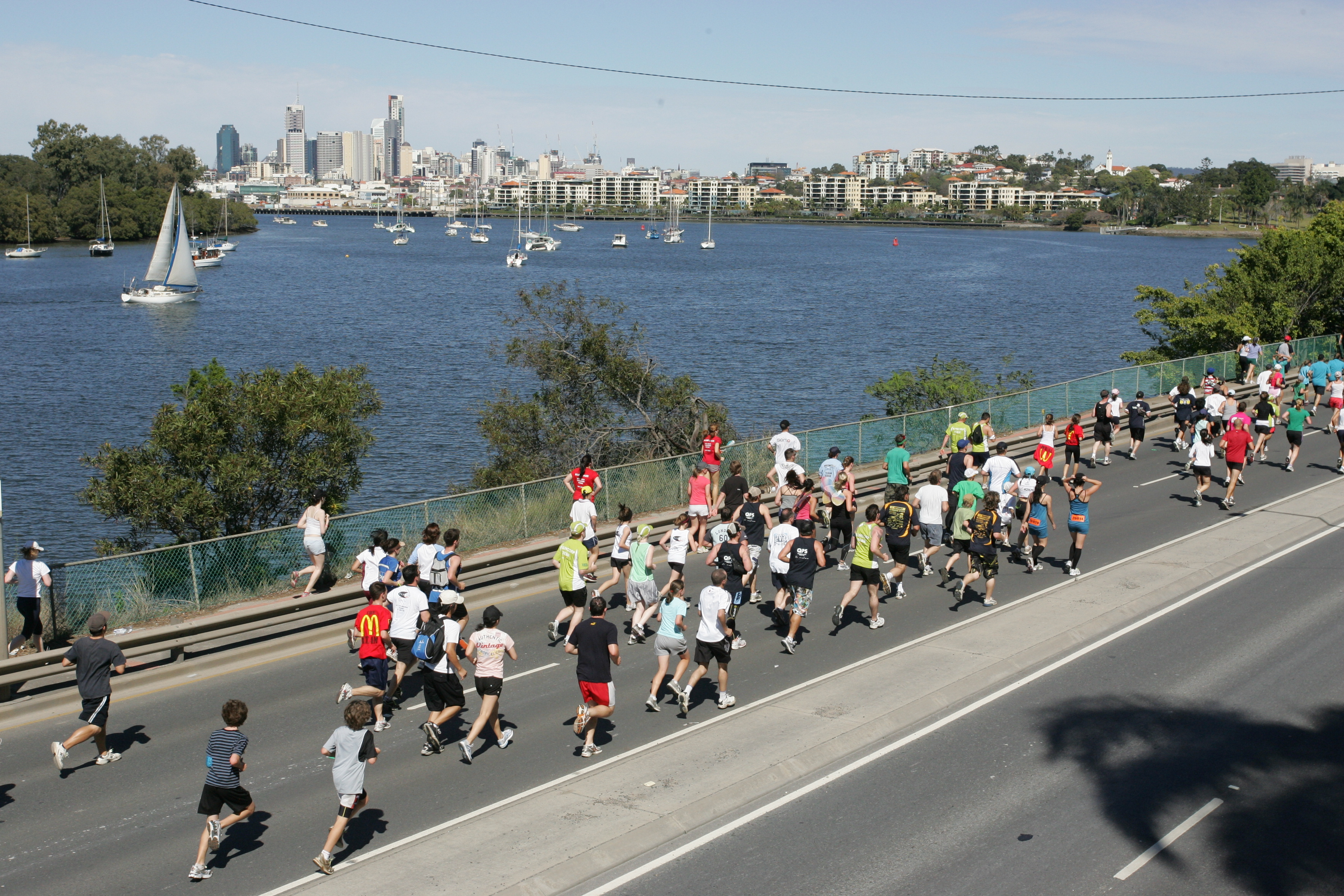 Running Back in Time: The Sunday Mail Bridge to Brisbane's 22-Year History